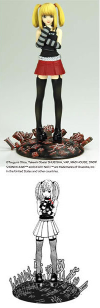 main photo of Death Note Real Figure Collection: Misa Amane