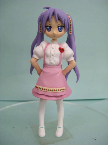 main photo of Figure Meister Lucky Star Support Domine Collection Set: Kagami Hiiragi A
