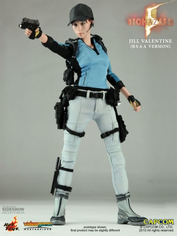 main photo of Video Game Masterpiece Jill Valentine BSAA Ver.