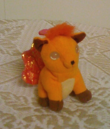 main photo of Applause Pokemon Playset Plush: Vulpix