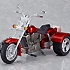 ex:ride.008: Three Wheeler: Red