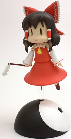 main photo of Tora no Ana Touhou Sofubi: Hakurei Reimu