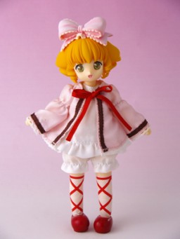 main photo of Hina Ichigo Rozen Maiden Mini Doll Ver.
