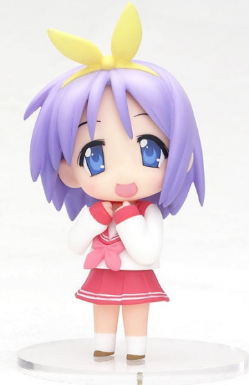 main photo of Lucky Star Nendoroid Petite Season 01 Tsukasa Hiiragi Winter Uniform Ver