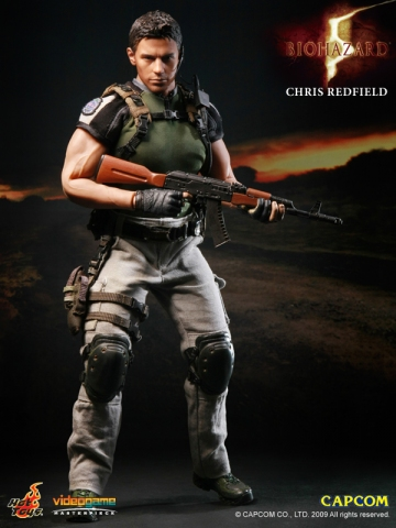 main photo of Video Game Masterpiece Chris Redfield BSAA Ver.