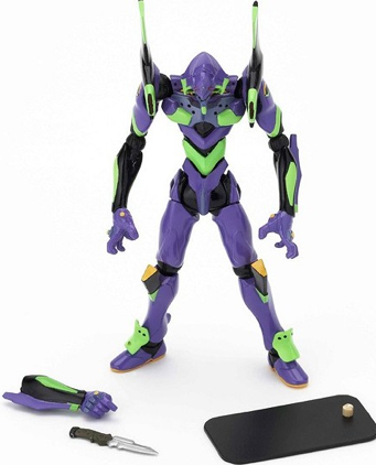 main photo of Revoltech Miniature EVA-01