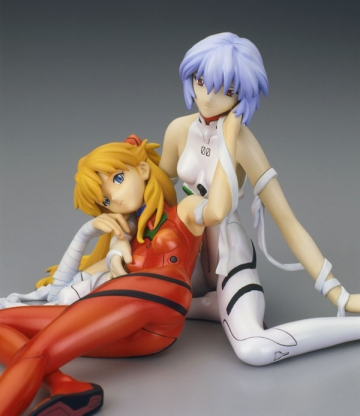 main photo of Ayanami Rei & Soryu Asuka Plug Suit Ver