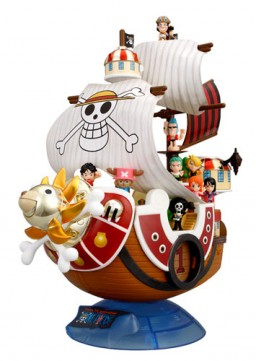 main photo of Thousand Sunny Complete Set DX
