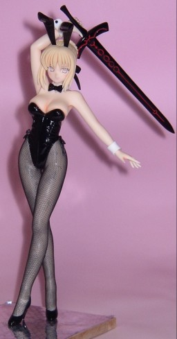 main photo of Saber Alter Bunny Girl Ver.