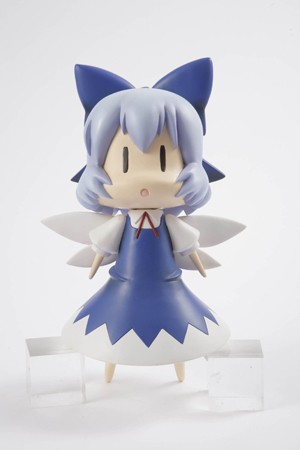 main photo of Tora no Ana Touhou Sofubi: Cirno