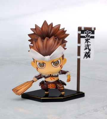 main photo of One Coin Grande Figure Collection Sengoku Basara Third: Miyamoto Musashi