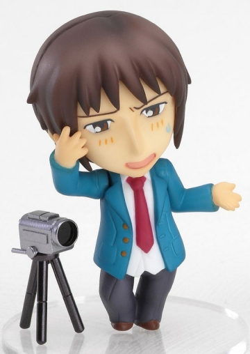 main photo of Nendoroid Petit Melancholy of Haruhi Suzumiya #01: Kyon 1