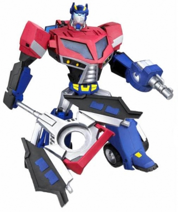 main photo of Optimus Prime