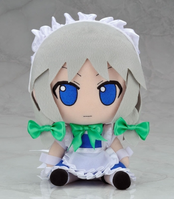 main photo of Nendoroid Plus Plushie Series 12: Sakuya Izayoi