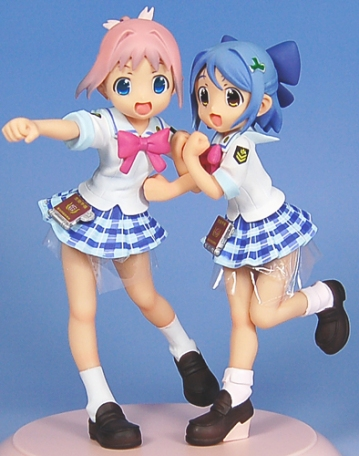 main photo of Amamiya Manami & Inamori Mika White School Swimsuit Ver.