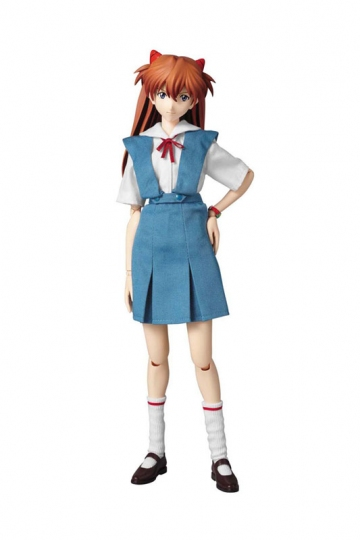 main photo of Real Action Heroes No.502 Asuka Langley Shikinami School Uniform ver.