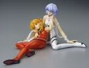 photo of Ayanami Rei & Soryu Asuka Plug Suit Ver