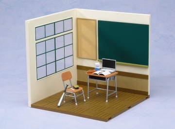 main photo of Nendoroid Playset  #01: School Life Set A (Window Side)