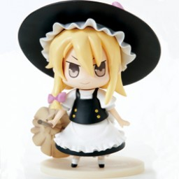 main photo of Tora no Ana Touhou Sofubi: Kirisame Marisa