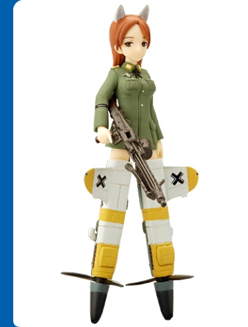 main photo of Strike Witches Figure Collection #1: Minna-Dietlinde Wilcke