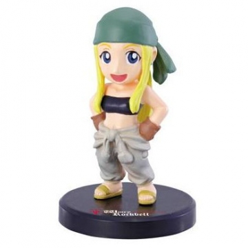 main photo of Fullmetal Alchemist Rensei Figure Collection: Winry Rockbell