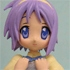 Figure Meister Lucky Star Support Domine Collection Set: Tsukasa Hiiragi A