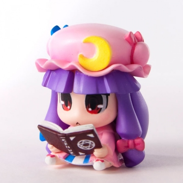 main photo of Patchouli Knowledge Touhou Strap Charm ver.