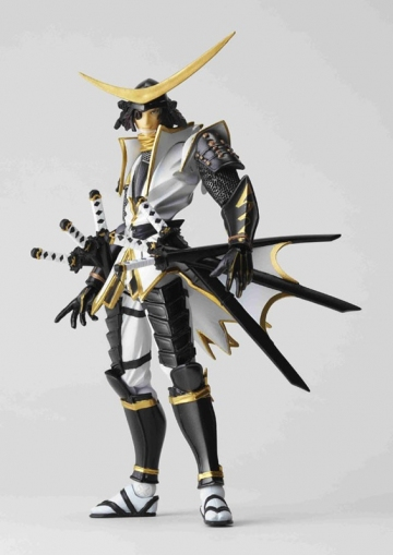main photo of Revoltech Yamaguchi Series No.079 Date Masamune Limited White Costume Ver.