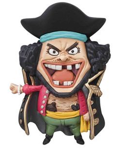 main photo of One Piece Mascot Relief Magnet: Marshall D. Teach