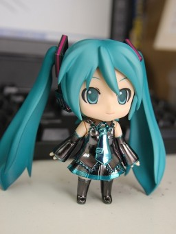 main photo of Hatsune Miku Nendoroid - Chrome ver.