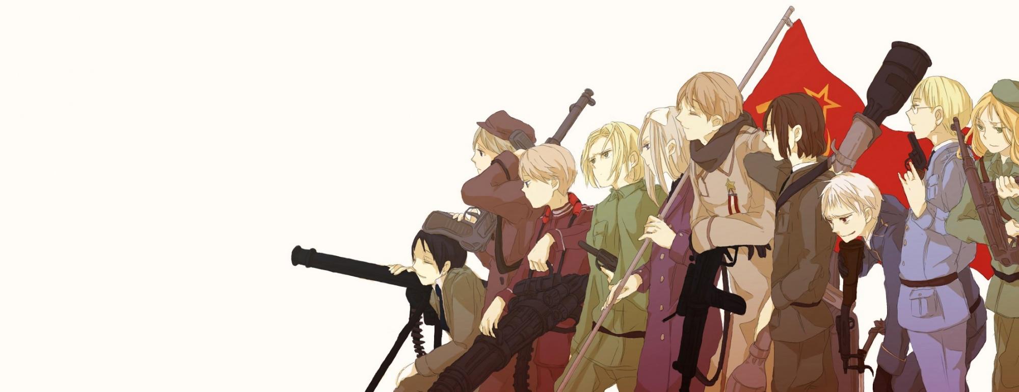 Hetalia Axis Powers My Anime Shelf