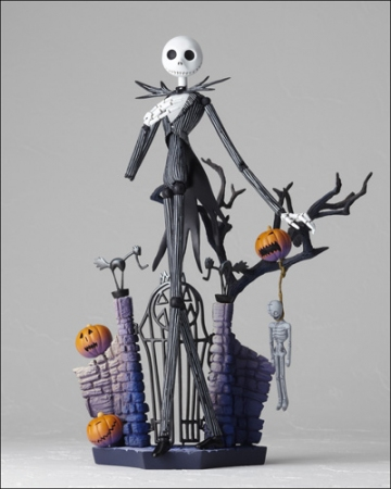 main photo of SCI-FI Revoltech No.005 Jack Skellington