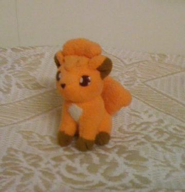 main photo of Bandai Pokemon Friends Plush: Vulpix