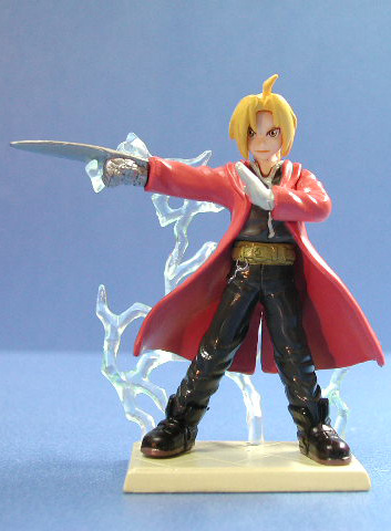 main photo of Bandai Fullmetal Alchemist Gashapons 1: Edward Elric A