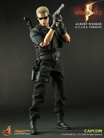main photo of Video Game Masterpiece Albert Wesker S.T.A.R.S Ver.