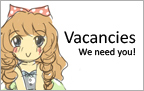 Vacancies. We need you!