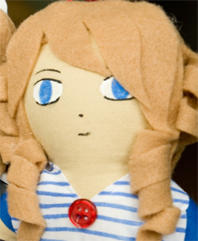 Michelle Plushie by SnowTigra (from USA).
