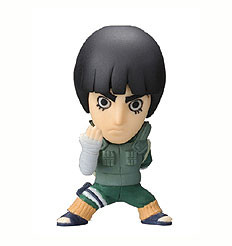 main photo of Anime Heroes Naruto Shippuuden Mini Big Head: Rock Lee