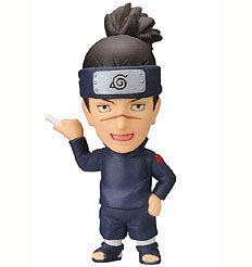 main photo of Anime Heroes Naruto Shippuuden Mini Big Head: Umino Iruka