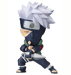 main photo of Anime Heroes Naruto Shippuuden Mini Big Head: Hatake Kakashi