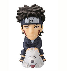 main photo of Anime Heroes Naruto Shippuuden Mini Big Head: Inuzuka Kiba
