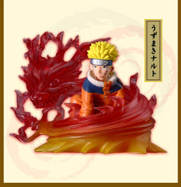 main photo of Bandai Naruto Real Collection 3: Uzumaki Naruto, Kyuubi