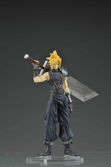 main photo of Dissidia Trading Arts Vol.1: Cloud Strife