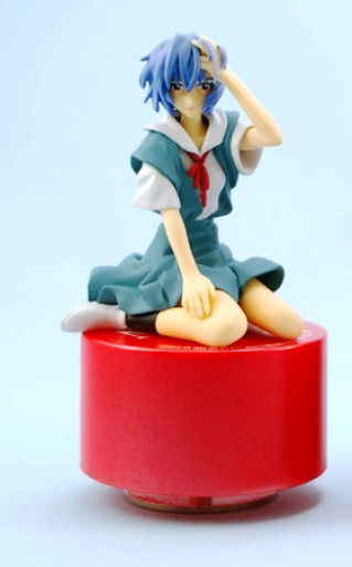 main photo of Ayanami Rei Music Box Figure