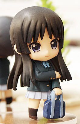 main photo of Nendoroid Petite K-ON! TBSishop & Lawson Exclusive: Mio Akiyama