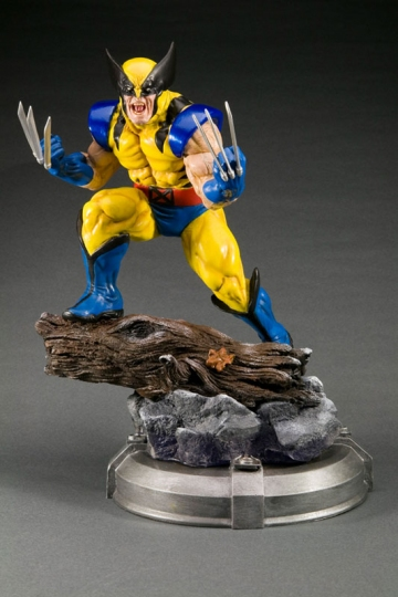 main photo of Fine Art Statue Wolverine