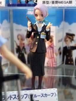 main photo of ANA Uniform collection: Ground Staff Blue scarf Ver.
