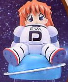 main photo of Evangelion Star and Constellation Mini Figure Series 2: Saturn Asuka