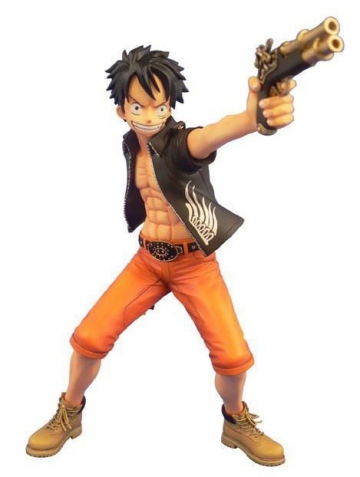 main photo of Door Painting Collection Figure Monkey D. Luffy The Three Musketeers Ver.