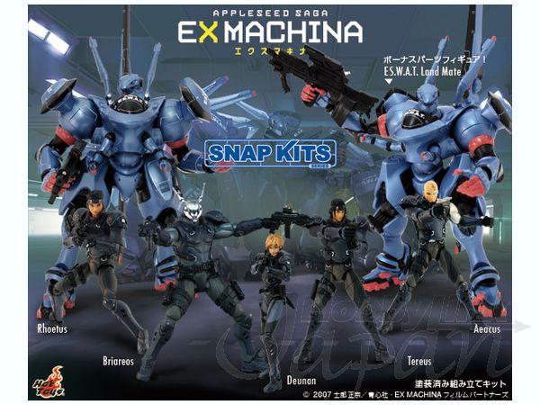 Appleseed Saga Ex Machina Snap Kits Briareos Hecatonchires My Anime Shelf